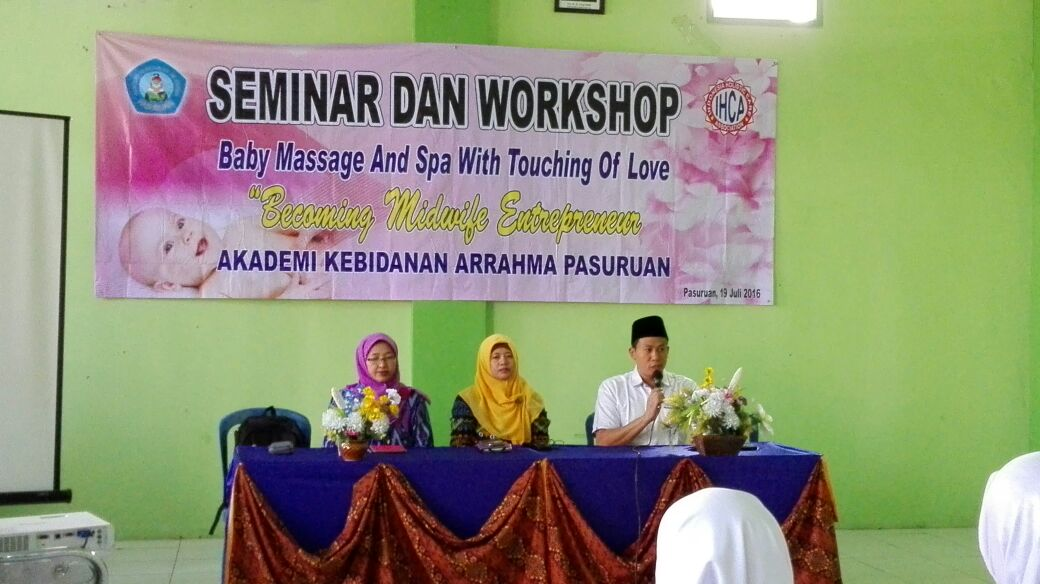 Seminar dan Workshop Baby Massage and SPA