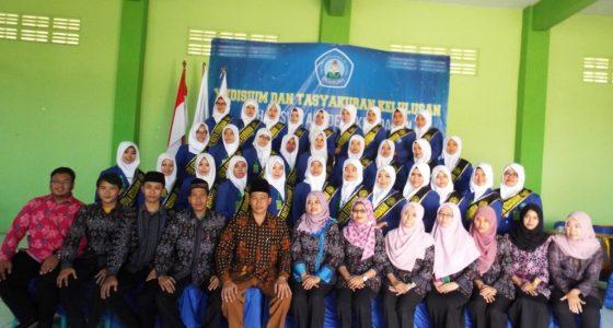 Yudisium Ke-VIII Akademi Kebidanan Ar-Rahma Pasuruan